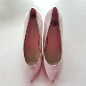 NEW Marc Fisher | Nude Blush Pointed Shoes 8